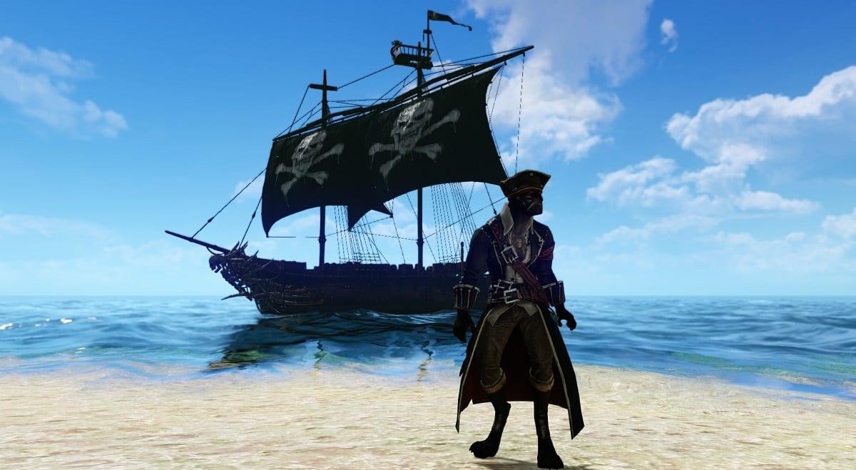 """Редкий пиратский корабль """"Черная жемчужина"""""""
