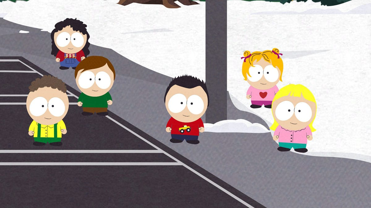 South Park The Stick of Truth kids