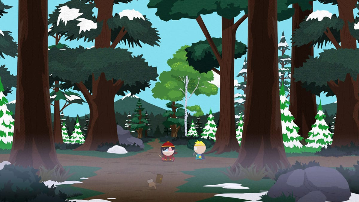 South Park The Stick of Truth woods