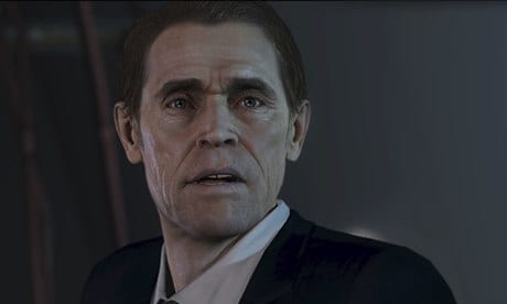Willem Dafoe in Beyond: Two Souls