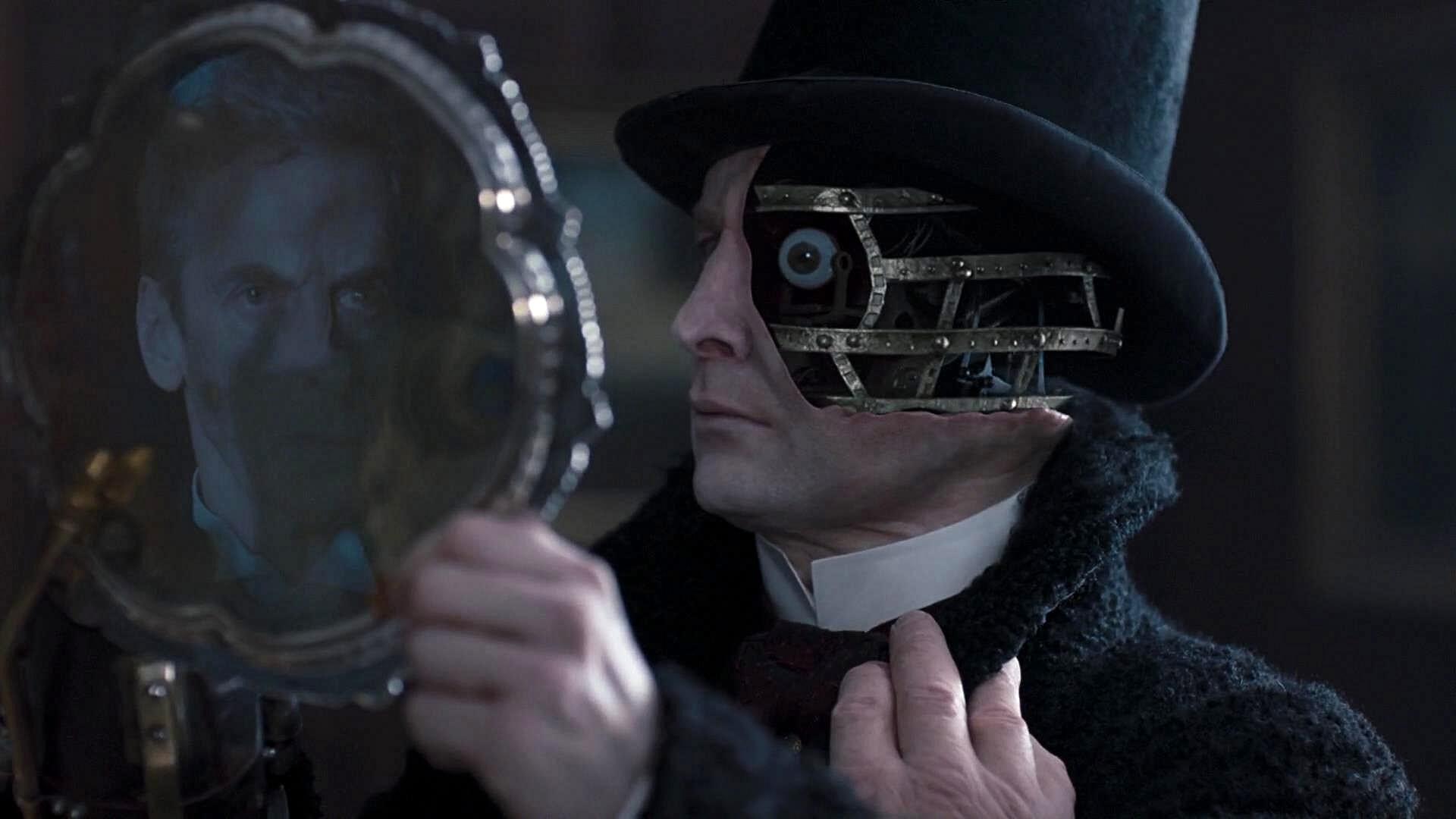 Будучи существом, циклично заменяющим свое умирающее тело на новое, Доктор как никто другой понимает большее зло и убеждает антагониста, что он уже совсем не тот, кем (чем) был когда-то.