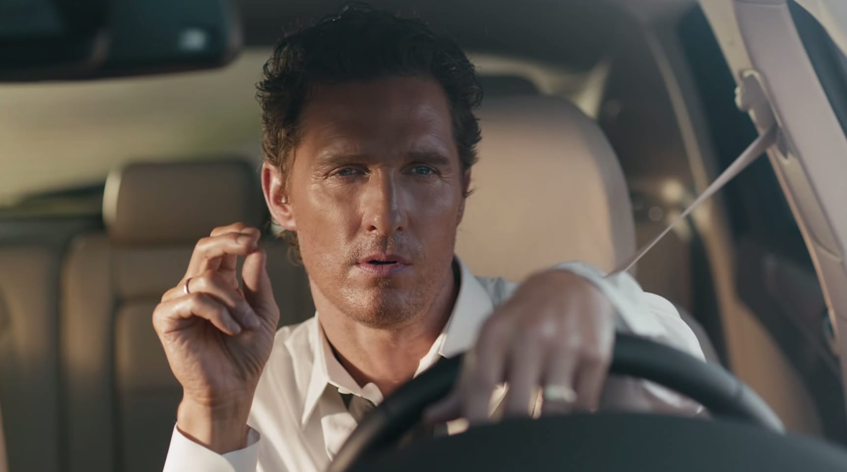 Matthew McConaughey and the MKC