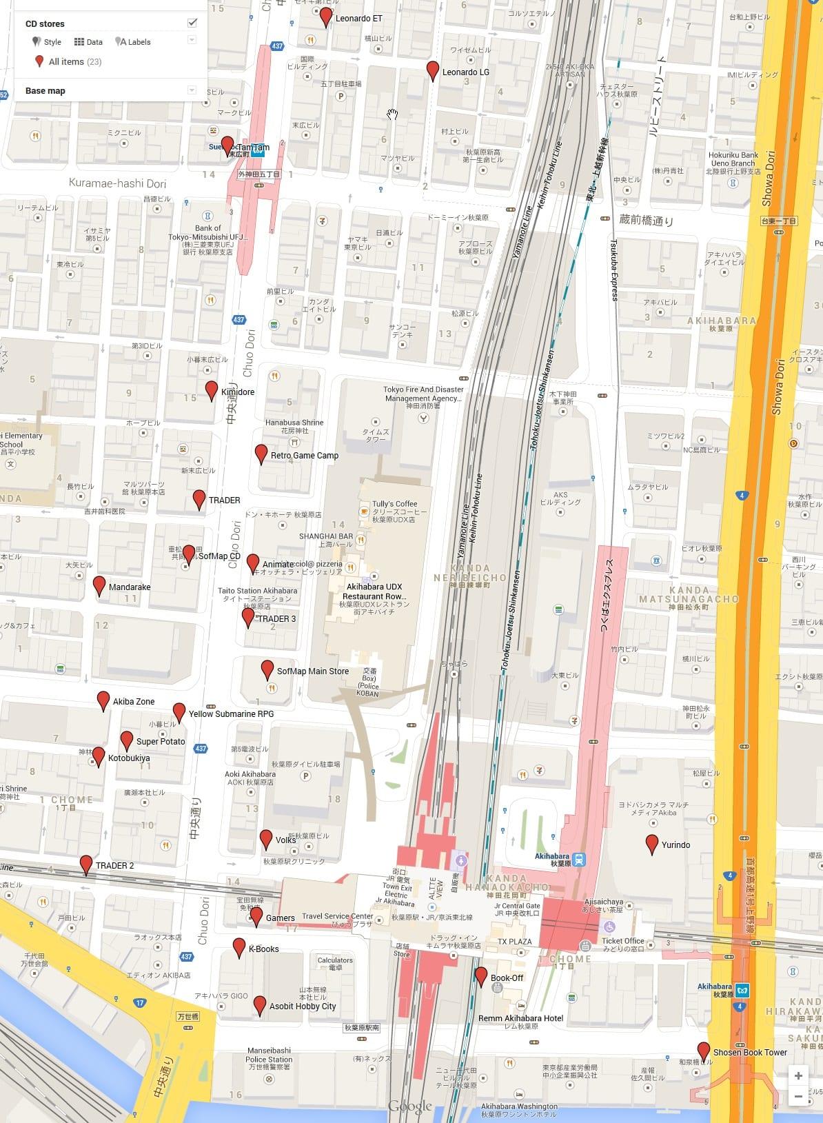 akiba-stores-map