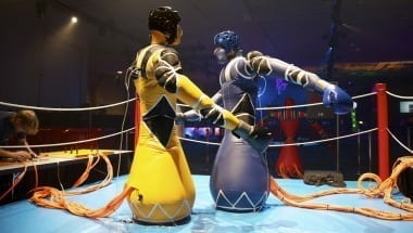 Inflatable Robots On The Ring