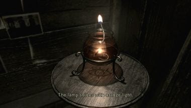 Resident Evil HD Lamp