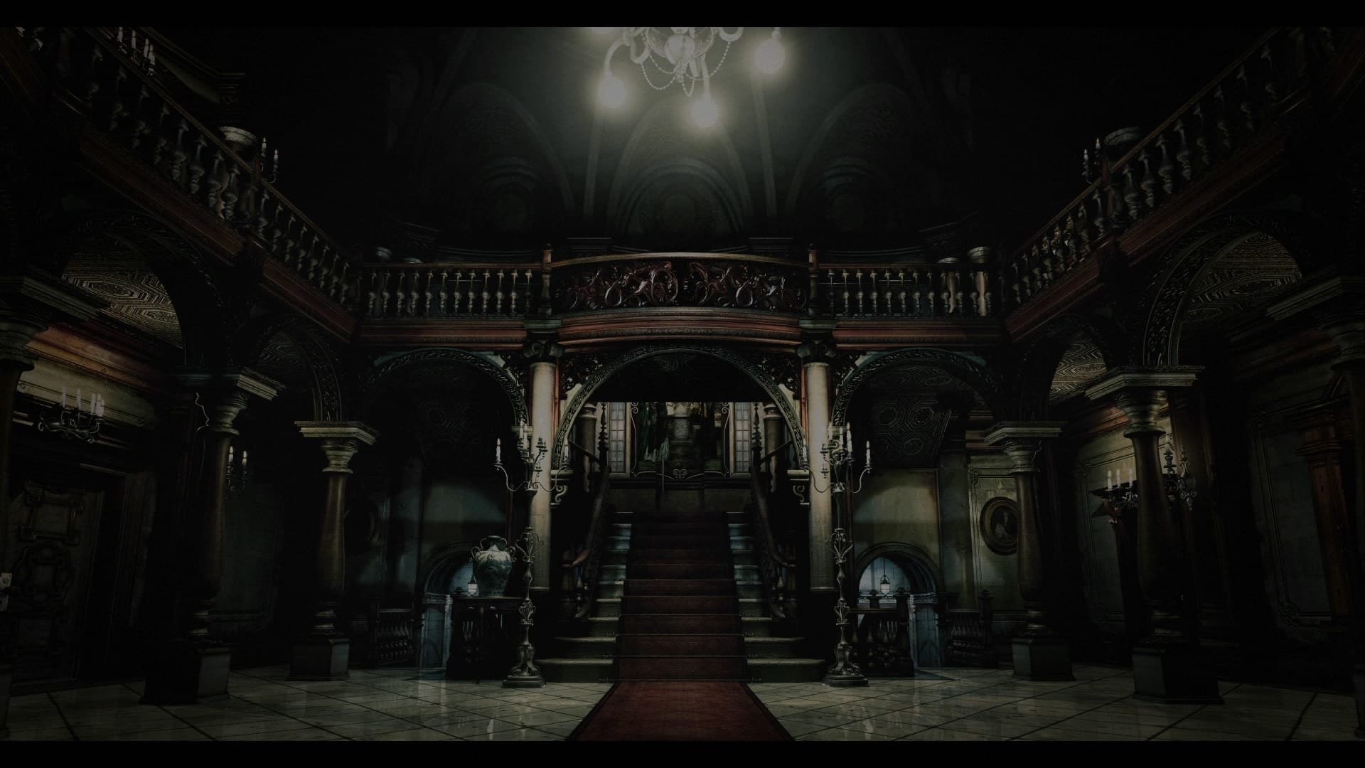 Resident Evil HD Mansion Inside
