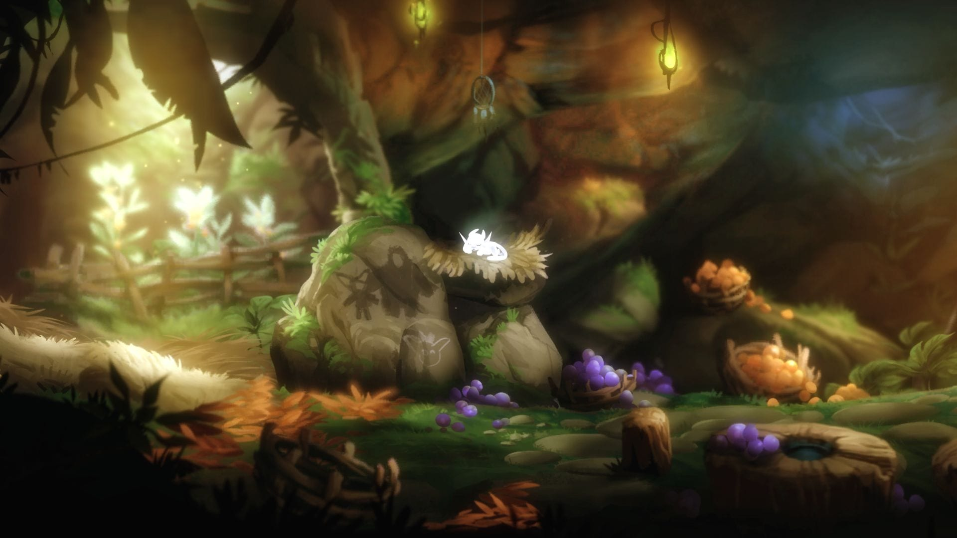 Ori and the Blind Forest Ori Sleeping