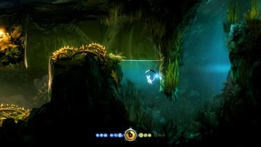 Ori and the Blind Forest Swimming