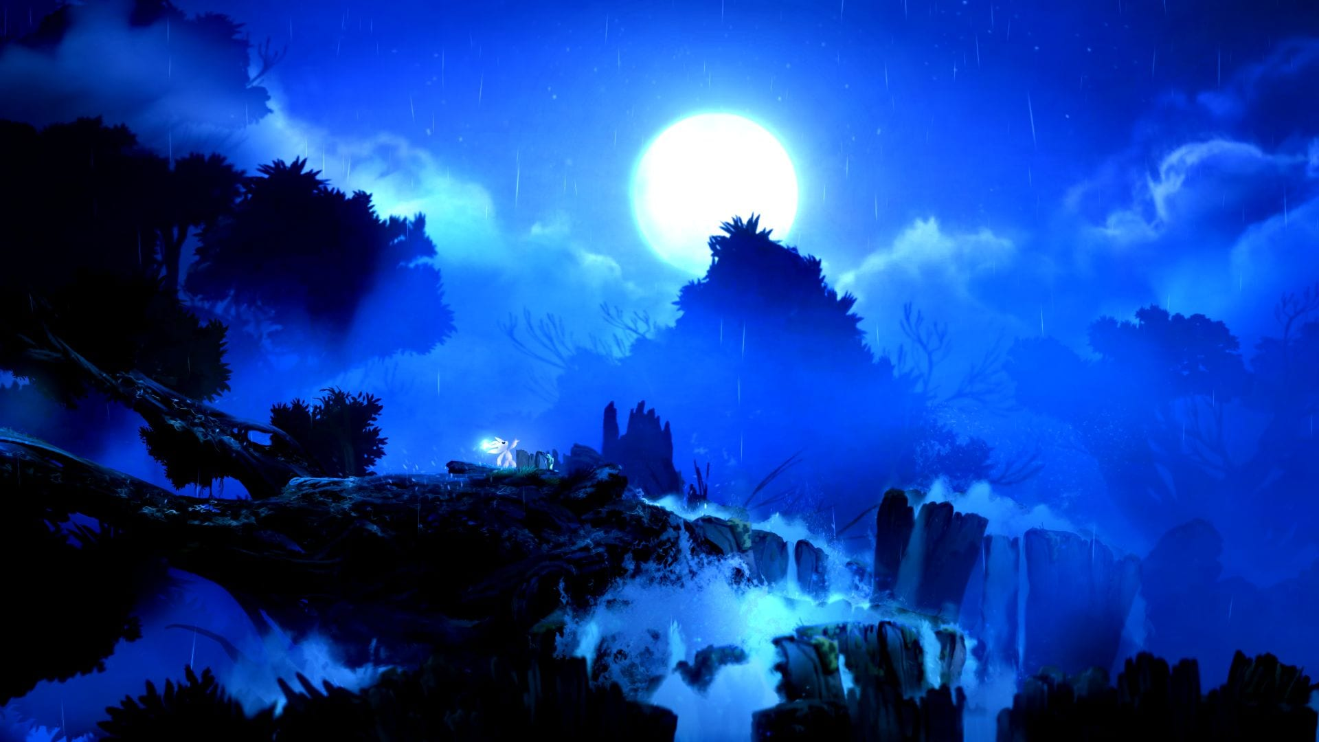 Ori and the Blind Forest Top of Tree