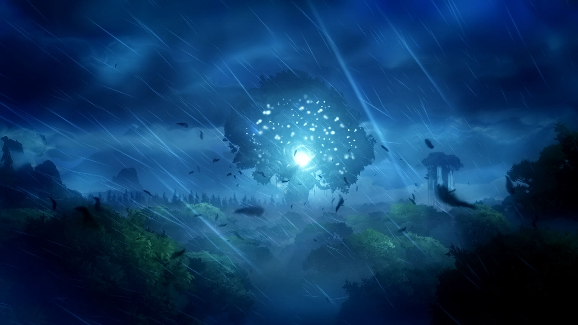 Ori and the Blind Forest Tree Darkness