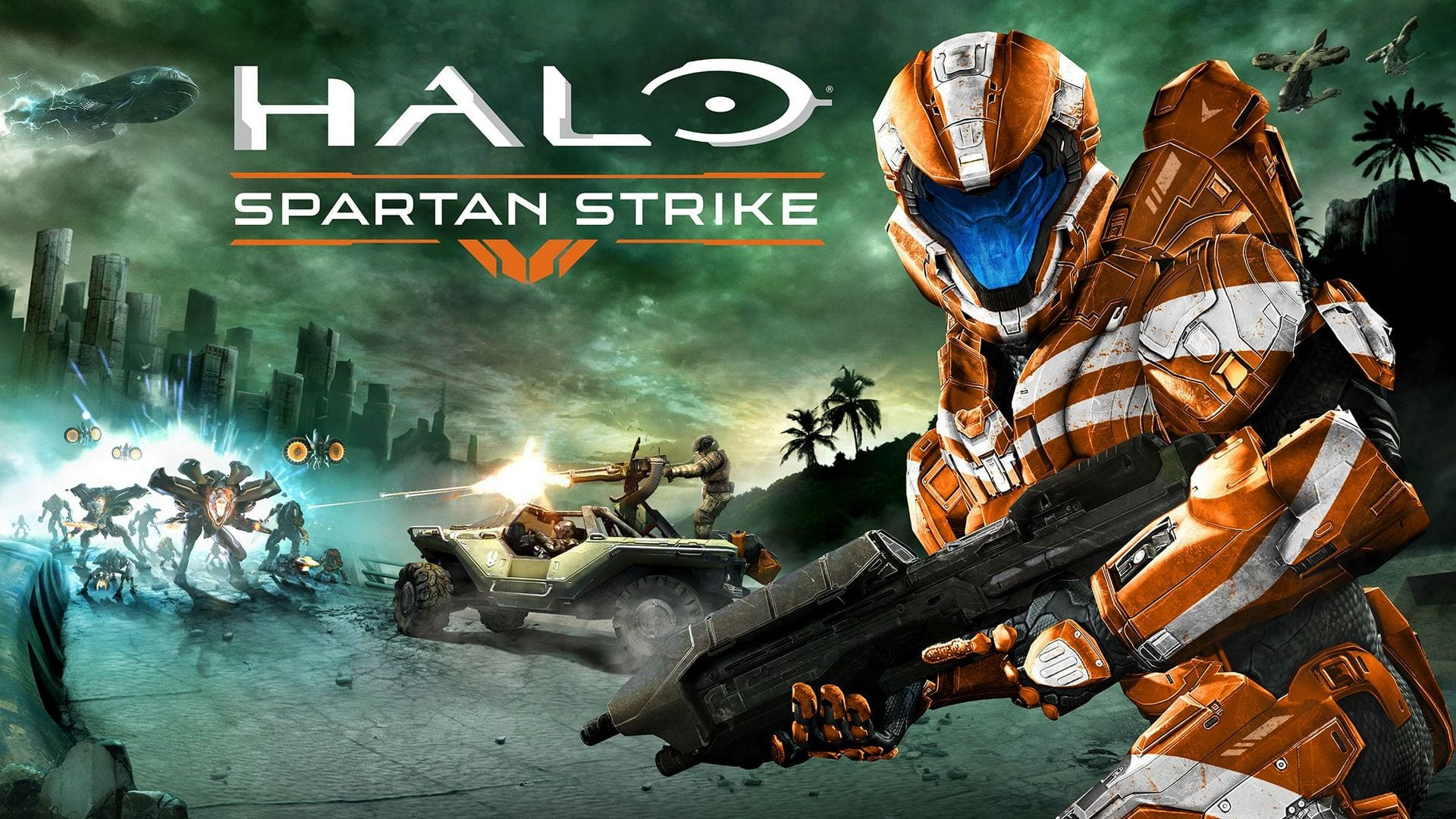 Halo Spartan Strike Cover 2