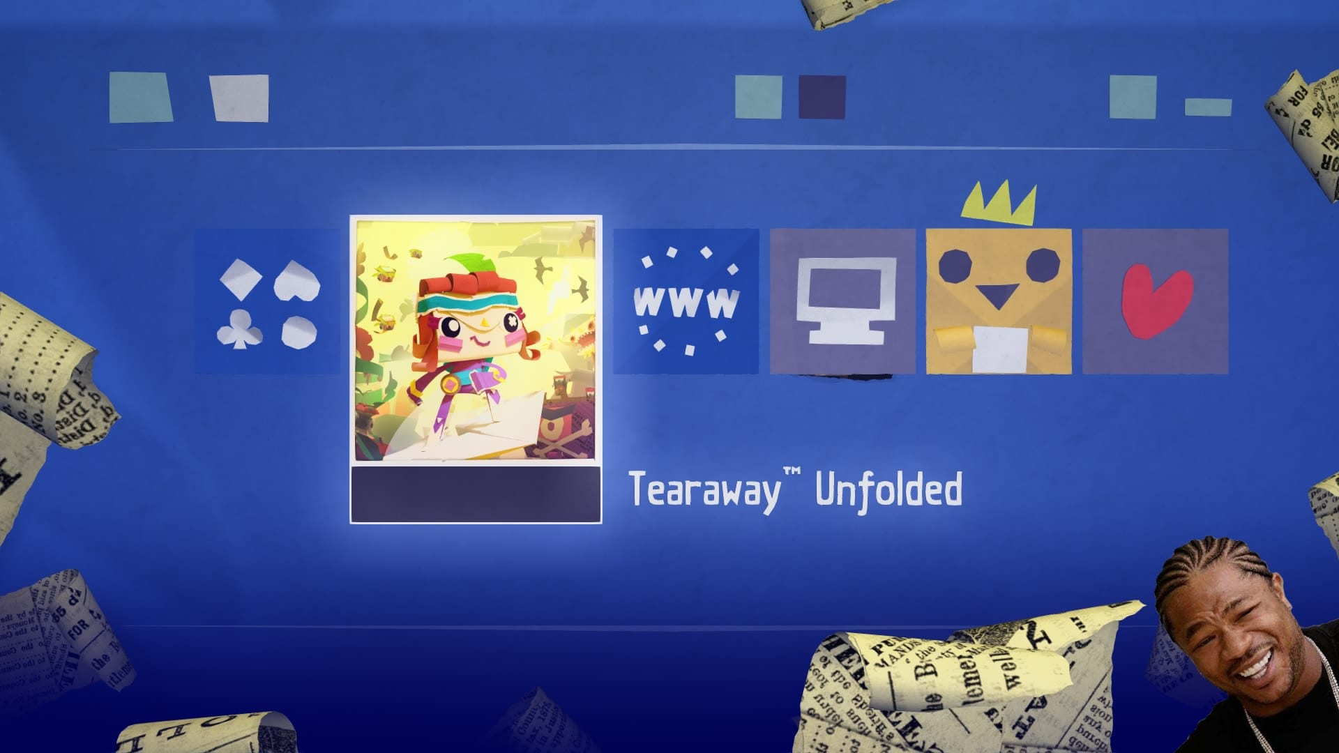 Tearaway Unfolded Game inside game1