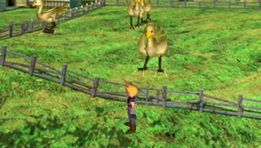 Final Fantasy VII Screenshot 3 Chocobo farm