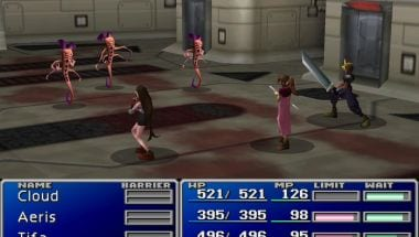 Final Fantasy VII weird enemies
