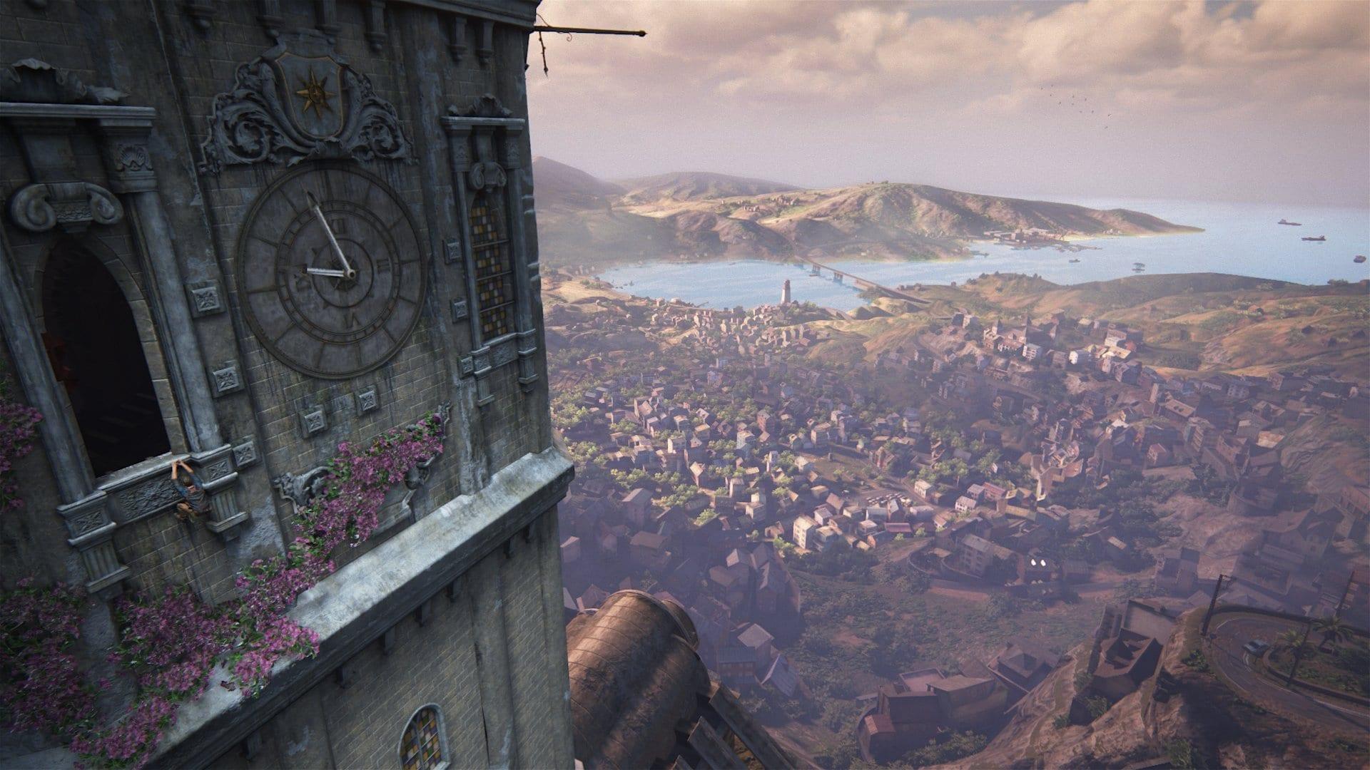 Uncharted 4 screen