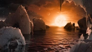 NASA обнаружило систему из семи планет похожих на землю