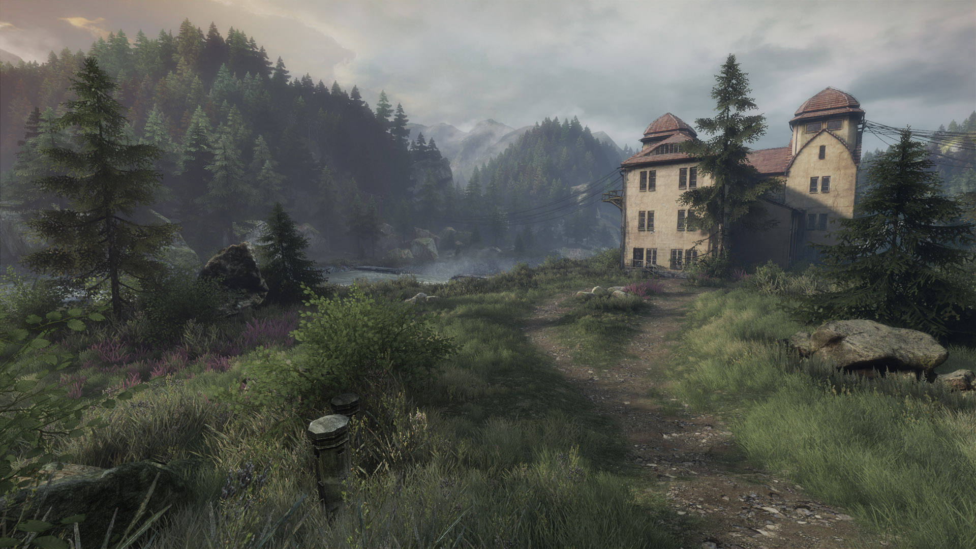 The Vanishing of Ethan Carter — Twin Peaks