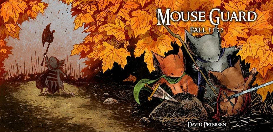 comics comic con russia 2017 mouse guard