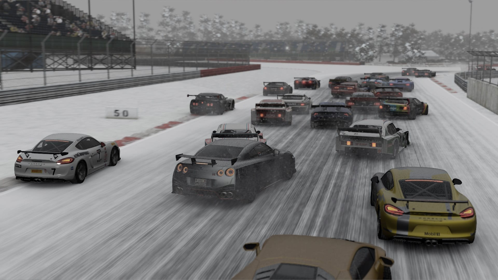 Project CARS 2 — snow