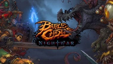 Battle Chasers: Nightwar logo banner