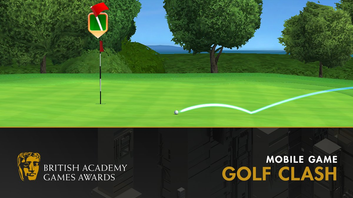 Mobile Game Golf Clash