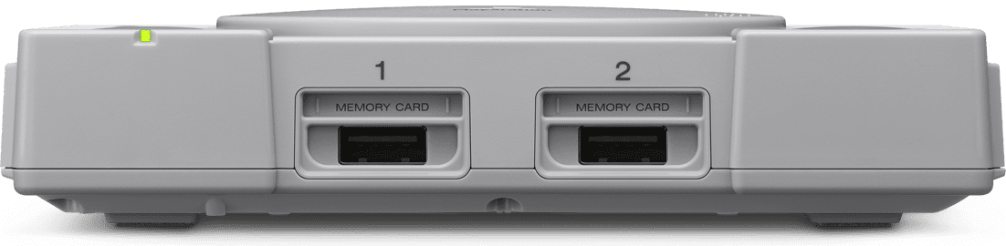 playstation classic front view