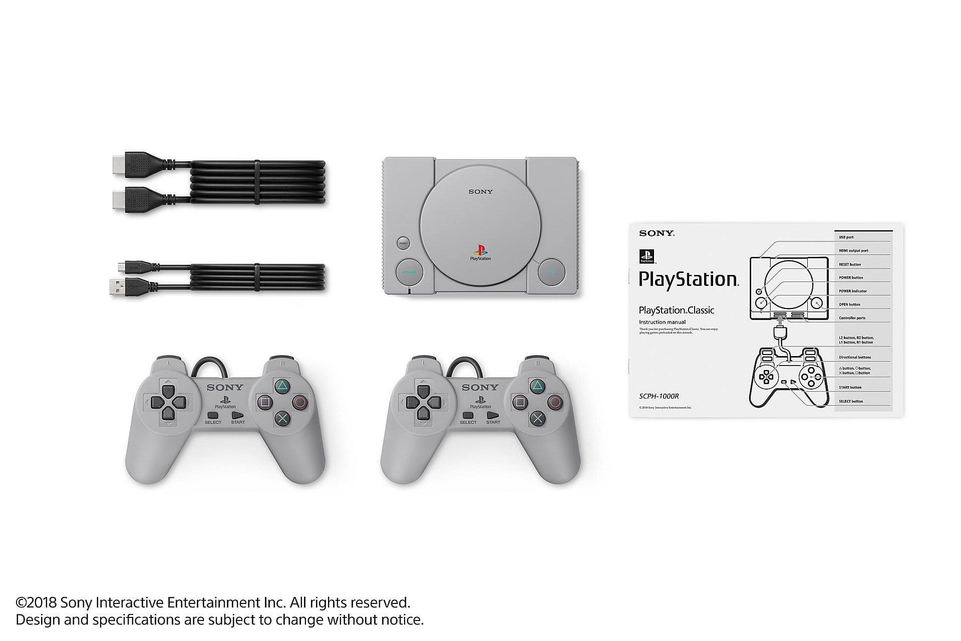 playstation classic pacage