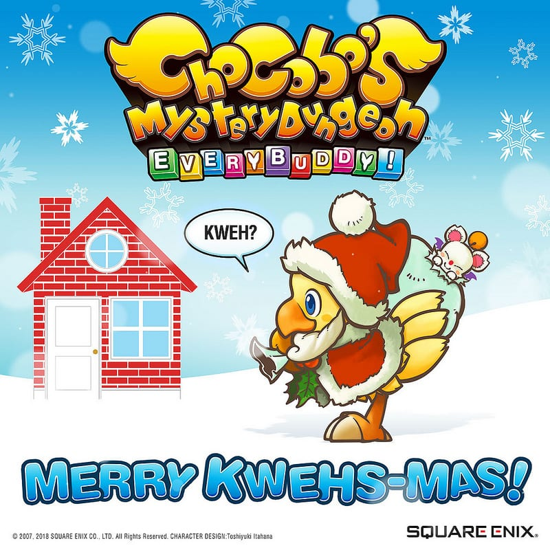 Square Enix — Chocobo's Mystery Dungeon