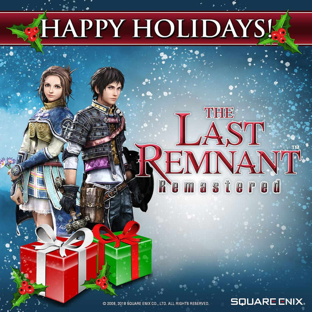 Square Enix — The Last Remnant Remastered