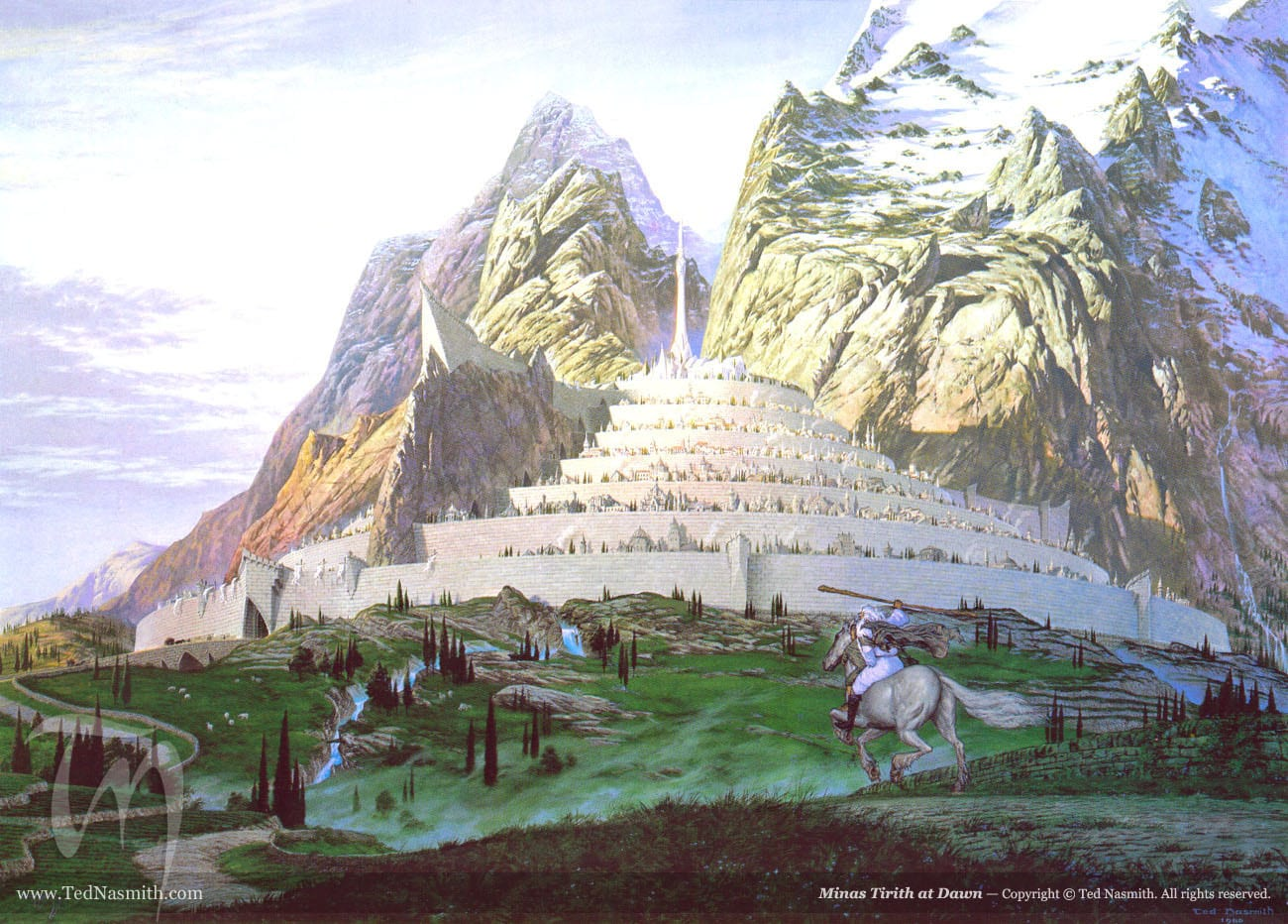 TN-Minas_Tirith_at_Dawn