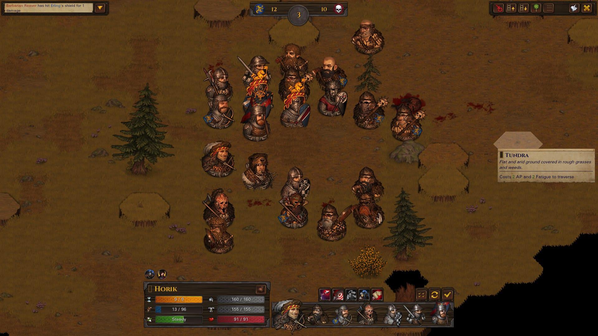 Warriors of the North — обзор второго дополнения для Battle Brothers