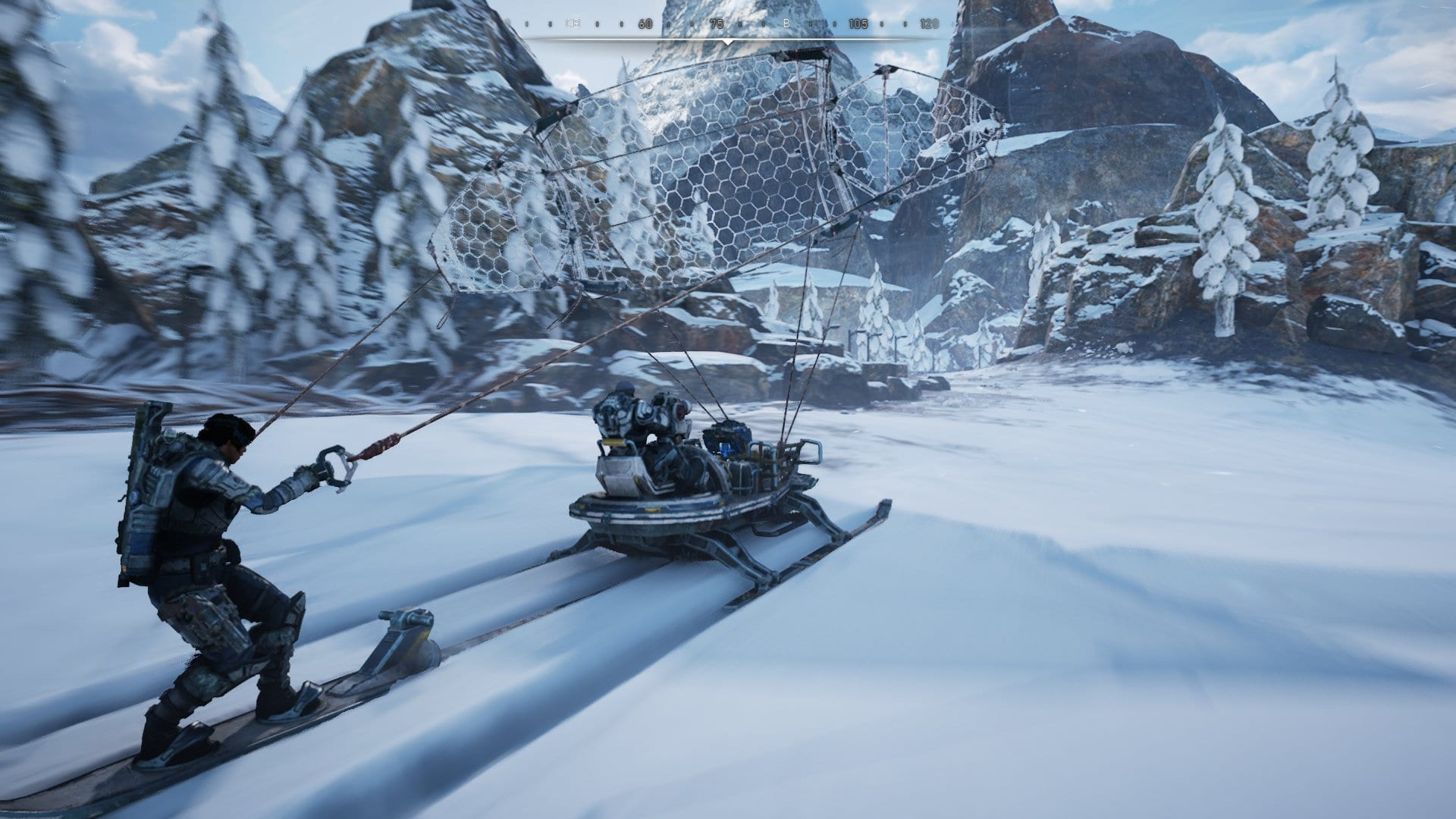 Gears 5 driving